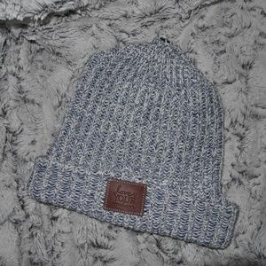 Love YOUR Melon | blue/ white knitted beanie
